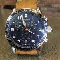 Victorinox Swiss Army Chronograph 45mm Quartz 2016 pre-owned Chrono Classic Blue