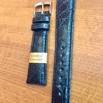 Morellato Genuine Crocodile Blue Marine Strap 20mm
