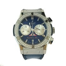 Hublot Classic Fusion Yacht Club Monaco Watch with Diamond Bezel