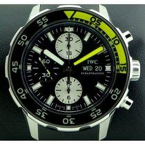 IWC   Aquatimer Chronograph Black Yellow Ref. 3767-02 , full set
