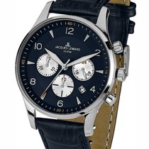 Jacques Lemans 1-1654C London  Chronograph Herren 40mm 10ATM