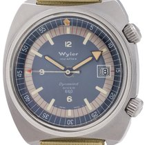 Wyler Steel 39mm Automatic pre-owned