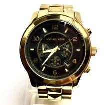 Michael Kors Chronograph Quartz Gold Tone Stainless Steel...