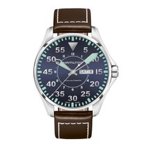Hamilton Khaki Pilot H64715545 nouveau