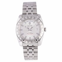 Tudor Date & Day 23010 Stainless Steel Silver Dial Automatic...