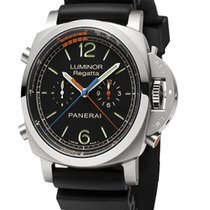 Panerai Luminor 1950 Regatta 3 Days Chrono Flyback Titan 47mm Schwarz Deutschland, Baden Baden