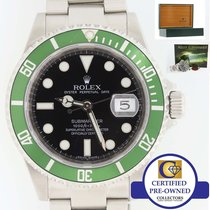 勞力士 ENGRAVED Rolex Submariner RARE Green Kermit 50th Anniversa...