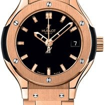 Hublot Classic Fusion Quartz Rose gold Black United States of America, New York, Brooklyn