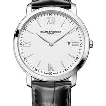 Baume & Mercier My Classima / orologio uomo / quadrante bianco...