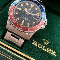 Rolex GMT-Master 1675 Heavy Patina circa 1975 Original Bezel