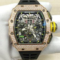 Richard Mille RM 011 Roségoud 44.50mm Arabisch