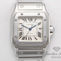 Cartier Santos Galbée gebraucht 29mm Stahl