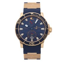 Ulysse Nardin pre-owned Automatic 42.7mm Blue