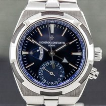 Vacheron Constantin Overseas Dual Time Steel 41mm Blue Arabic numerals United States of America, Massachusetts, Boston
