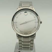 Movado TC Staal 35mm Parelmoer