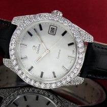 Omega Genève Steel 36mm White No numerals United States of America, Utah, Draper