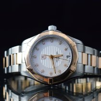 TAG Heuer Aquaracer Lady Gold/Steel Mother of pearl No numerals