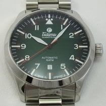 Tutima Acier 41mm Remontage automatique 6105-30 nouveau