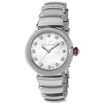Bulgari Lucea Steel 33mm Mother of pearl No numerals United States of America, New York, New York