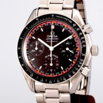 Omega Speedmaster Racing Aço 39mm Preto