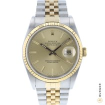 Rolex Datejust Or/Acier 36mm Or