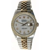 Rolex Like New Rolex Datejust Men's Model 16013 Steel and Gold...