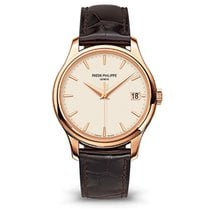 Patek Philippe Calatrava Rose gold 39mm White No numerals