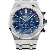 Audemars Piguet AP Royal Oak Chrono 41mm Blue Dial 26320ST.OO....