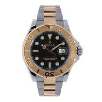 Rolex Yacht-Master 40 Steel & Everose Gold Black Dial 116621