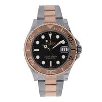 Rolex Yacht-Master 40 pre-owned 40mm Brown Date Gold/Steel