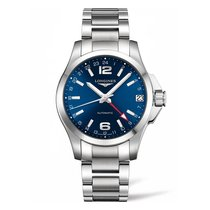 Longines Conquest GMT Automatic Blue Dial Men's Watch...