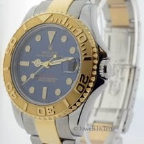 Rolex Mid-Size Yacht-Master 18k Yellow Gold & Steel Yachtmaste...