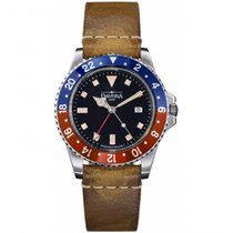 Davosa Vintage Diver GMT Blue and Red (Pepsi) 161.570.95.25011
