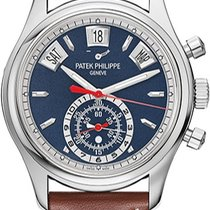 Patek Philippe Annual Calendar Chronograph White gold 40.5mm Blue No numerals United Kingdom, London