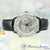 Jaeger-LeCoultre Master Geographic Steel 38mm Silver No numerals United States of America, New York, New York