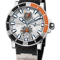 Ulysse Nardin Maxi Marine Diver 263-90-3/91 Very good Titanium 45mm Automatic