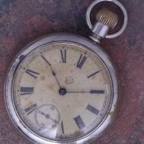 Ansonia 1900 Vintage 53mm 16s Dollar Pocket Watch Runs Well...