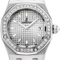 Audemars Piguet Royal Oak Lady new Quartz Watch with original box and original papers 67621ST.ZZ.D012CR.02