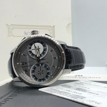 Maurice Lacroix Chronograph 45mm Manual winding 2008 pre-owned Masterpiece (Submodel) Grey