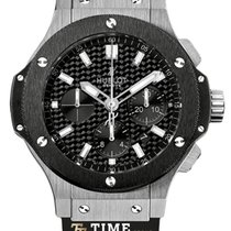 Hublot Big Bang 44 mm new 2019 Automatic Chronograph Watch with original box and original papers 301.SM.1770.RX