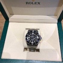 Rolex Sea-Dweller Deepsea Acier 44mm Noir Sans chiffres France, franqueville saint pierre