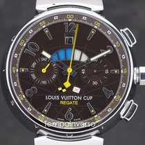 Louis Vuitton Steel 44mm Automatic Q10211 pre-owned