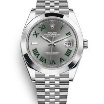 Rolex Steel Automatic No numerals 41mm new Datejust
