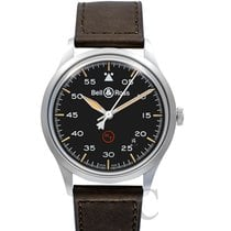 Bell & Ross BR V1 BRV192-MIL-ST/SCA New 38.5mm Automatic