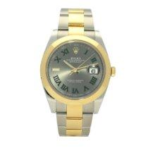 Rolex Datejust Gold/Steel 41mm Grey Roman numerals United Kingdom, Liverpool