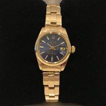 Rolex Oyster Perpetual Lady Date Oro amarillo 26mm Azul Sin cifras España, Barcelona