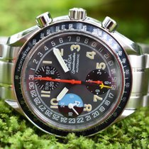 Omega Speedmaster Day Date Steel 39mm Grey Arabic numerals United States of America, Hawaii, Honolulu