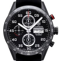 TAG Heuer Carrera Calibre 16 43mm Black Arabic numerals