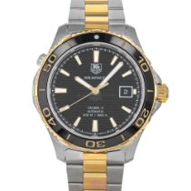 TAG Heuer Aquaracer 500M Gold/Steel 41mm Black United States of America, Maryland, Baltimore, MD