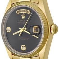 Rolex Day-Date 36 Yellow gold 35mm Black No numerals United States of America, Texas, Dallas